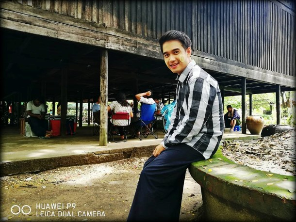 Worldfie Game Campaign တြင္ ပါ၀င္ခဲ့ေသာ အႏုပညာရွင္မ်ား(ဓာတ္ပံု - Huawei Mobile Myanmar Facebook )